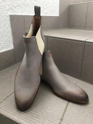 Chelsea Boots grau/creme von Melvin & Hamilton, Gr. 40 NEU!