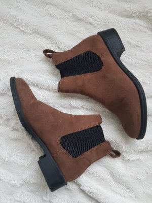 H&M Chelsea Boots black-brown