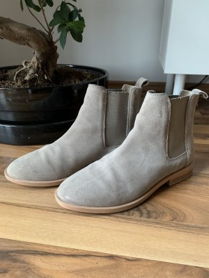 Asos Chelsea Boots light grey