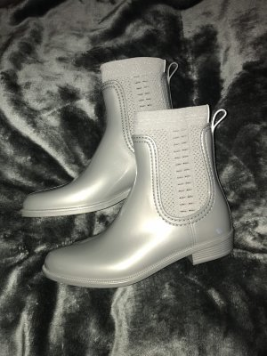 Tommy Hilfiger Chelsea Boots light grey-silver-colored