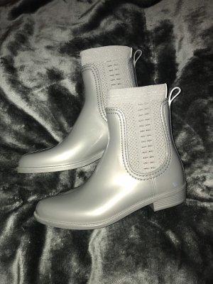 Tommy Hilfiger Botines Chelsea gris claro-color plata
