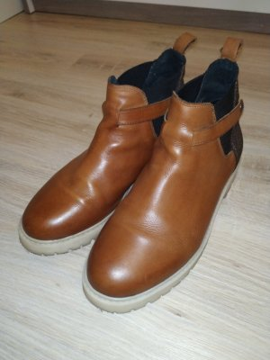 Chelsea Boots/ Leder Stiefelette