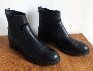 Chelsea Boots / Marc O'Polo / Leder / schwarz / Größe 38,5