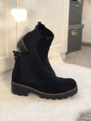 Chelsea laarzen zwart-bruin