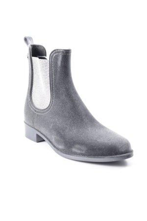 Chelsea laarzen taupe-zilver glitter-achtig