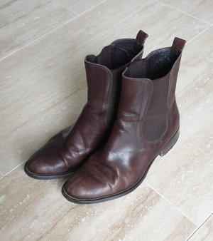Bagatt Botines Chelsea marrón-negro Cuero