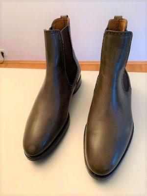 Benson's Chelsea Boots khaki leather