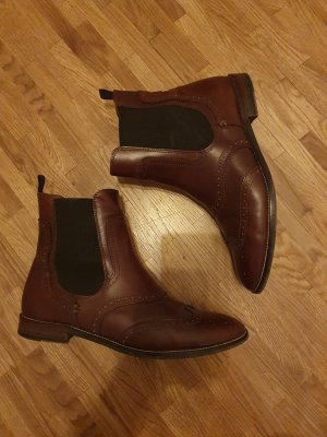 Massimo Dutti Chelsea Boots brown