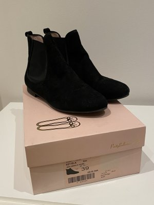 Pretty ballerinas Chelsea Boots black leather