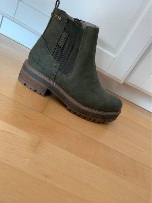 Tom Tailor Chelsea Boot kaki