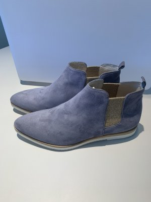 Bruno Premi Slip-on Booties azure leather