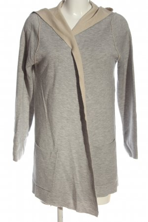 Chelsea Rose NYC Cardigan light grey flecked casual look