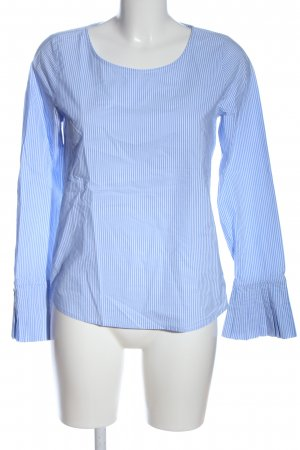 Chelsea Rose NYC Long Sleeve Blouse white-blue allover print business style