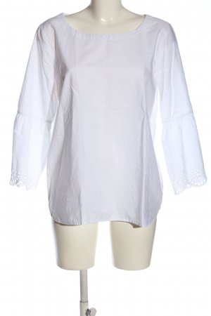 Chelsea Rose NYC Long Sleeve Blouse white business style