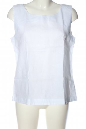 Chelsea Rose NYC Linen Blouse white casual look