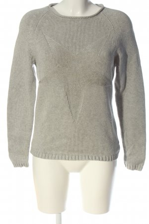 Chelsea Rose NYC Crewneck Sweater light grey casual look