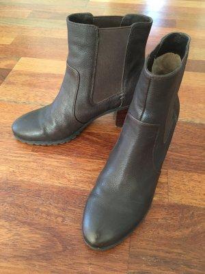 Belmondo Slip-on laarzen bruin-brons Leer