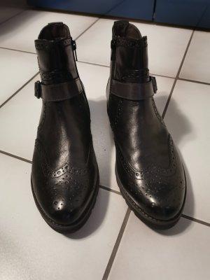 Chelsea Stiefeletten in schwarz