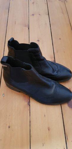 unbekannte Chelsea Boot noir