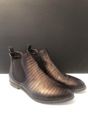 5 th Avenue Chelsea Boot bronze-brun foncé cuir