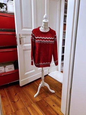 bpc bonprix collection Sweter z okrągłym dekoltem Wielokolorowy