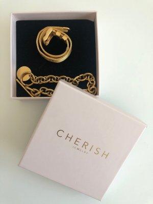 Cherish Armbänder gold
