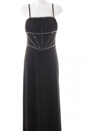 Cherlone elegantes Stretch Palletten Abend-Kleid NEU mit Etikett Gr.40 schwarz