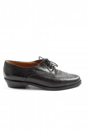 cherry boutique Oxfords zwart casual uitstraling