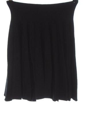Cherry Koko Flared Skirt black casual look