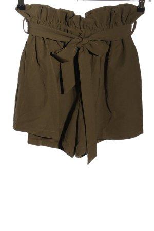 Cherry Koko High-Waist-Shorts bronzefarben Casual-Look