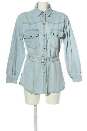 Cherry Koko Denim Blouse blue casual look