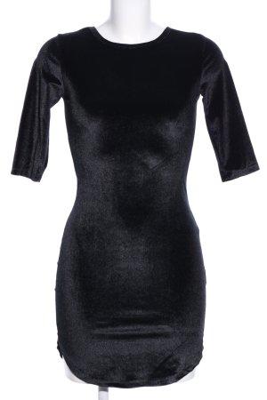 Cherry Koko Jurk met lange mouwen zwart elegant