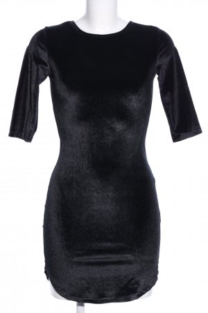 Cherry Koko Langarmkleid schwarz Elegant