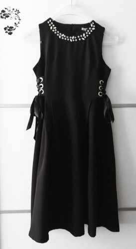 Cherry Koko Midi-jurk zwart