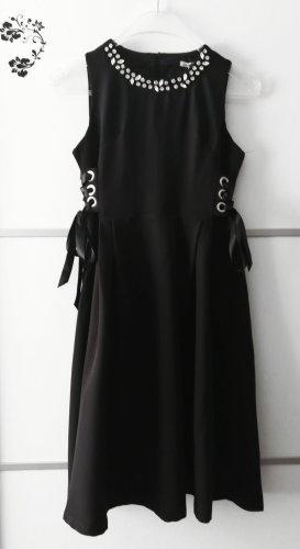 Cherry Koko Midi Dress black