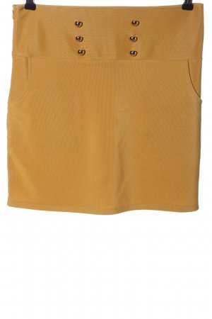 Cherry Koko Miniskirt light orange casual look