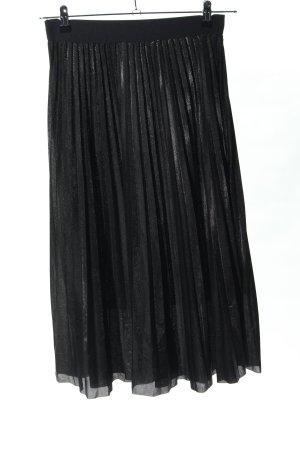 Cherry Koko Geplooide rok zwart casual uitstraling