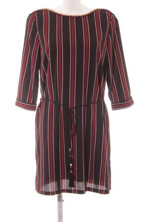 Cherry Longsleeve Dress striped pattern