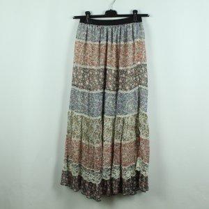 Falda larga multicolor Poliéster