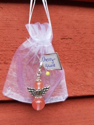 Cherry Quarz Schutzengel Anhänger Ketten Charm - hübsches Geschenk