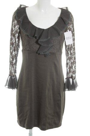 Cherry Lace Dress dark grey extravagant style