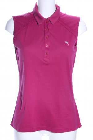 Chervo Sleeveless Blouse pink casual look
