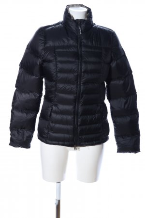 Chervo Down Jacket black quilting pattern casual look