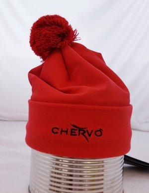 Chervo Cappello in tessuto rosso neon-rosso Poliammide