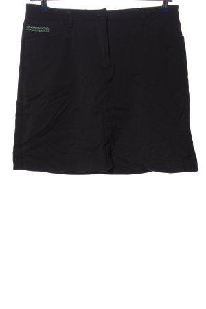 Chervo Spódnica mini czarny W stylu casual