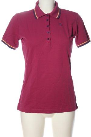 Chervo Polo shirt roze casual uitstraling