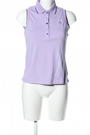 Chervo Polo Top lilac athletic style