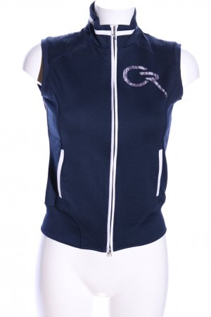 Chervo Sportvest blauw-wit casual uitstraling