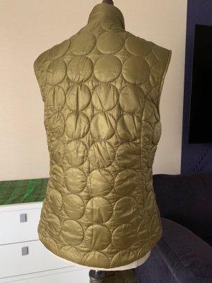 Chervo Gewatteerd vest olijfgroen-goud Polyamide