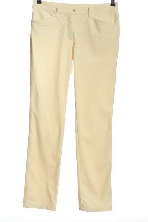Chervo Spodnie materiałowe kremowy W stylu casual